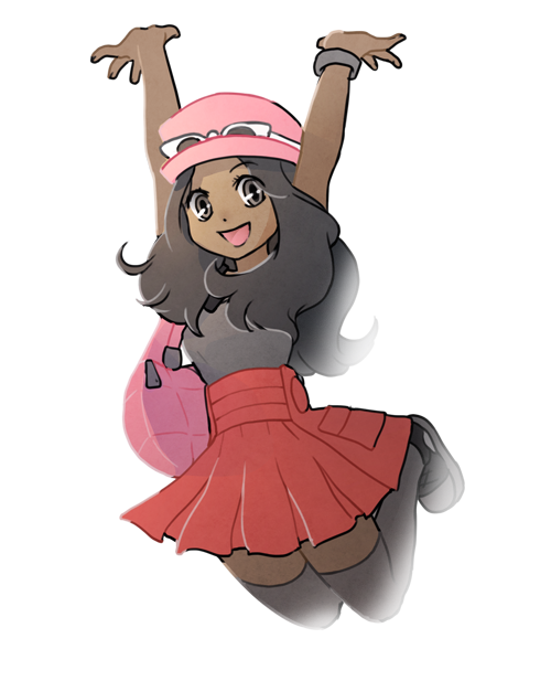 pokemon x how to change skin color