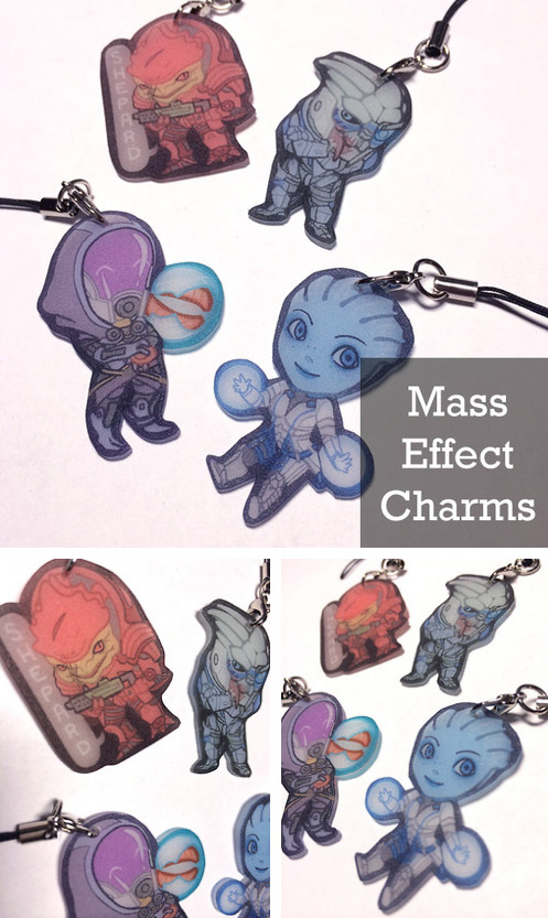 mass effect charms by shattered earth on deviantart