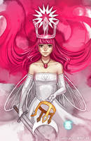 Child of Light Queen Aurora by Shattered-Earth