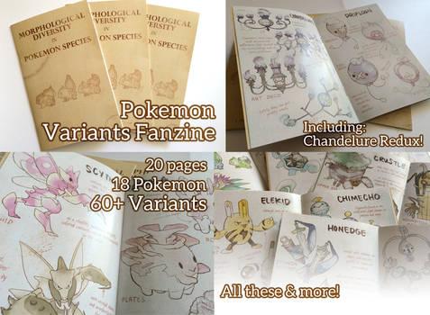 Pokemon Variants Zine
