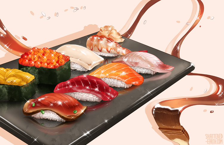 Sushi by Shattered-Earth