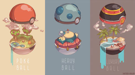Pokeball Interiors