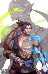 Hanzo Shimada by Shattered-Earth