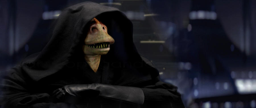 Image result for darth jar jar