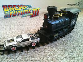 BTTF 3 Train by RockerDragonfly