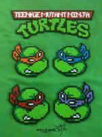 Teenage Mutant Ninja Turtles by RockerDragonfly