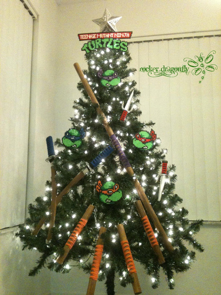 Ninja Turtle Christmas Tree