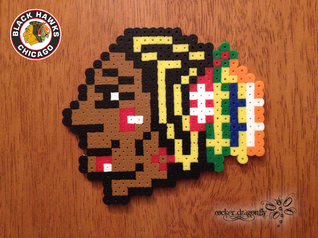 Chicago Blackhawks by RockerDragonfly