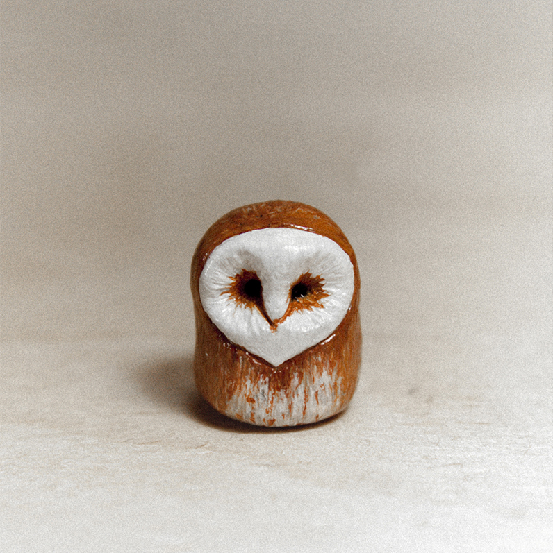 Owl of Woods Animal Totem by RamalamaCreatures