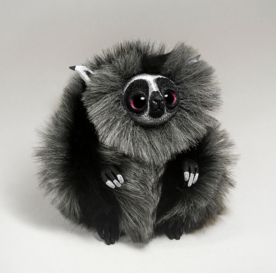 Lemur Spirit Furry Creature by RamalamaCreatures