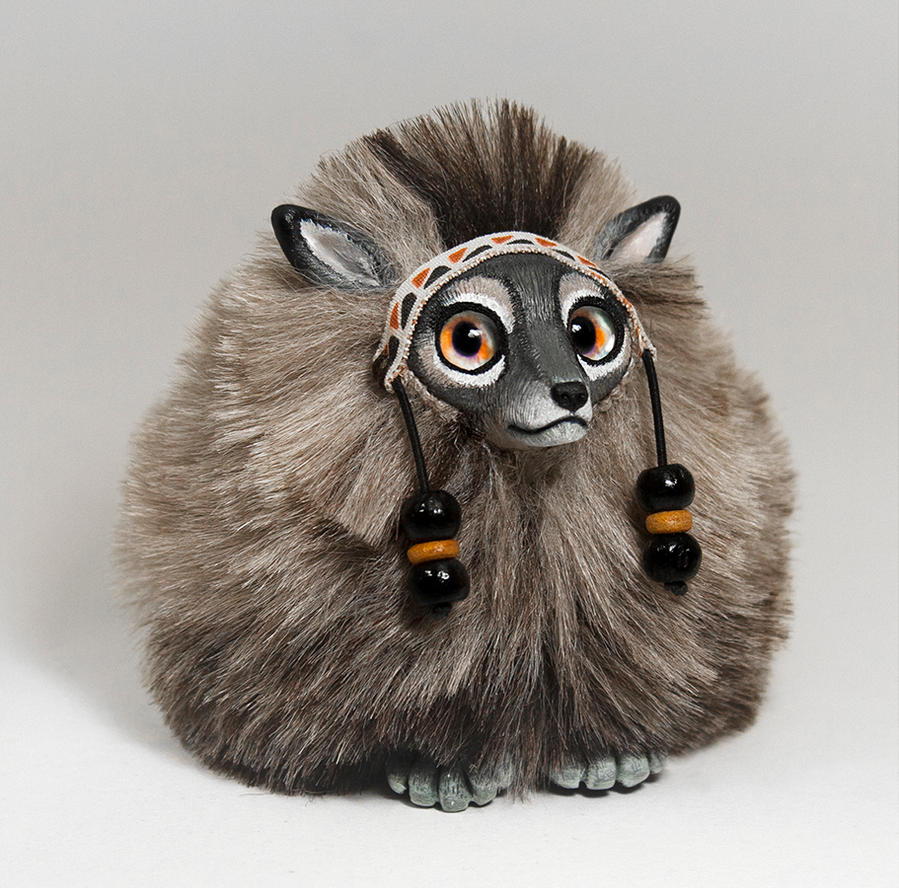 Wolf Spirit Furry Creature by RamalamaCreatures
