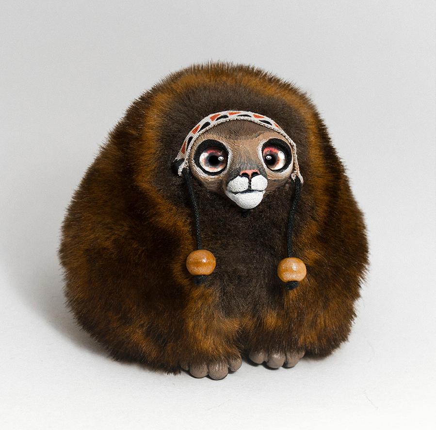 Puma Spirit Furry Creature by RamalamaCreatures