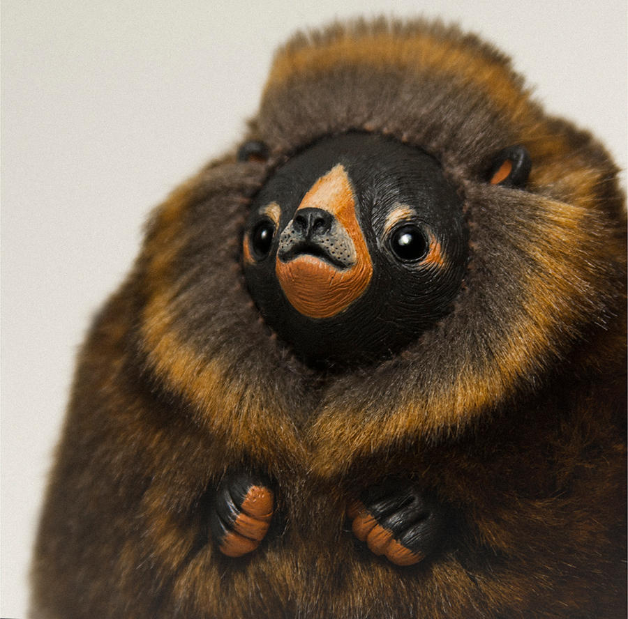 Bear Furry Creature by RamalamaCreatures
