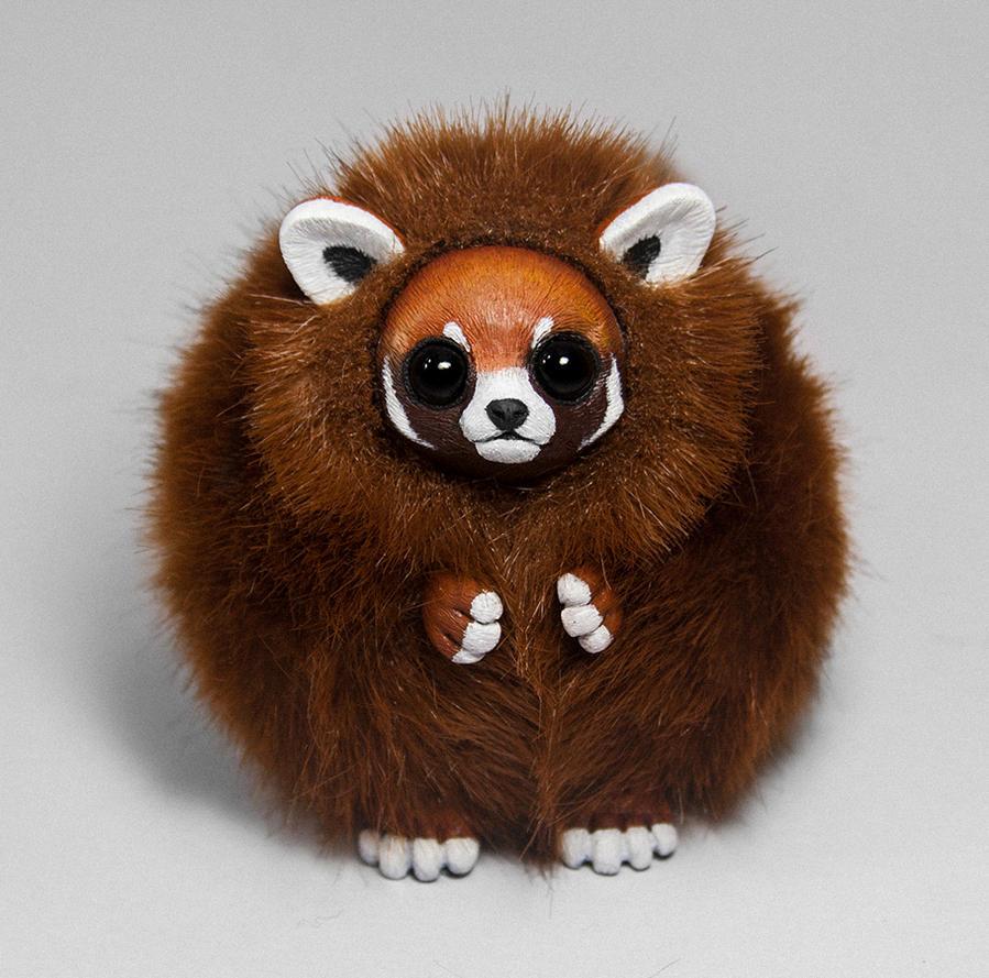 Red Panda Furry Creature by RamalamaCreaturesRed Panda Drawing Furry
