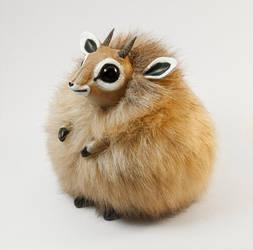 Dik-Dik Furry Creature by RamalamaCreatures