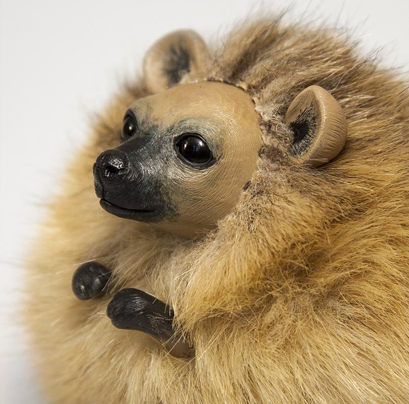 Hyena Furry Creature by RamalamaCreatures
