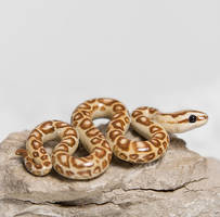 Snake Figurine by RamalamaCreatures