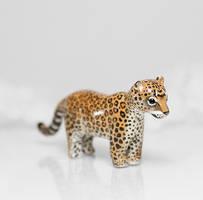 Leopard Figurine by RamalamaCreatures