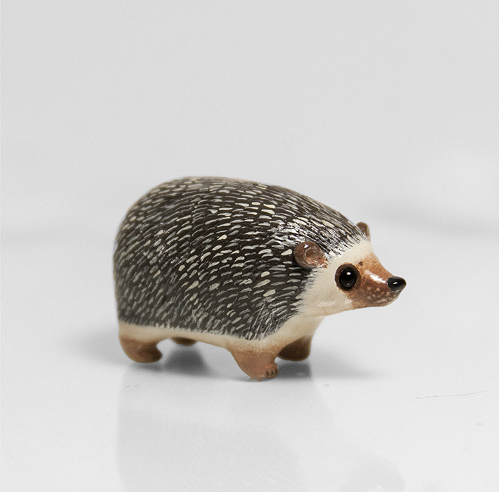 Hedgehog Pocket Totem by RamalamaCreatures