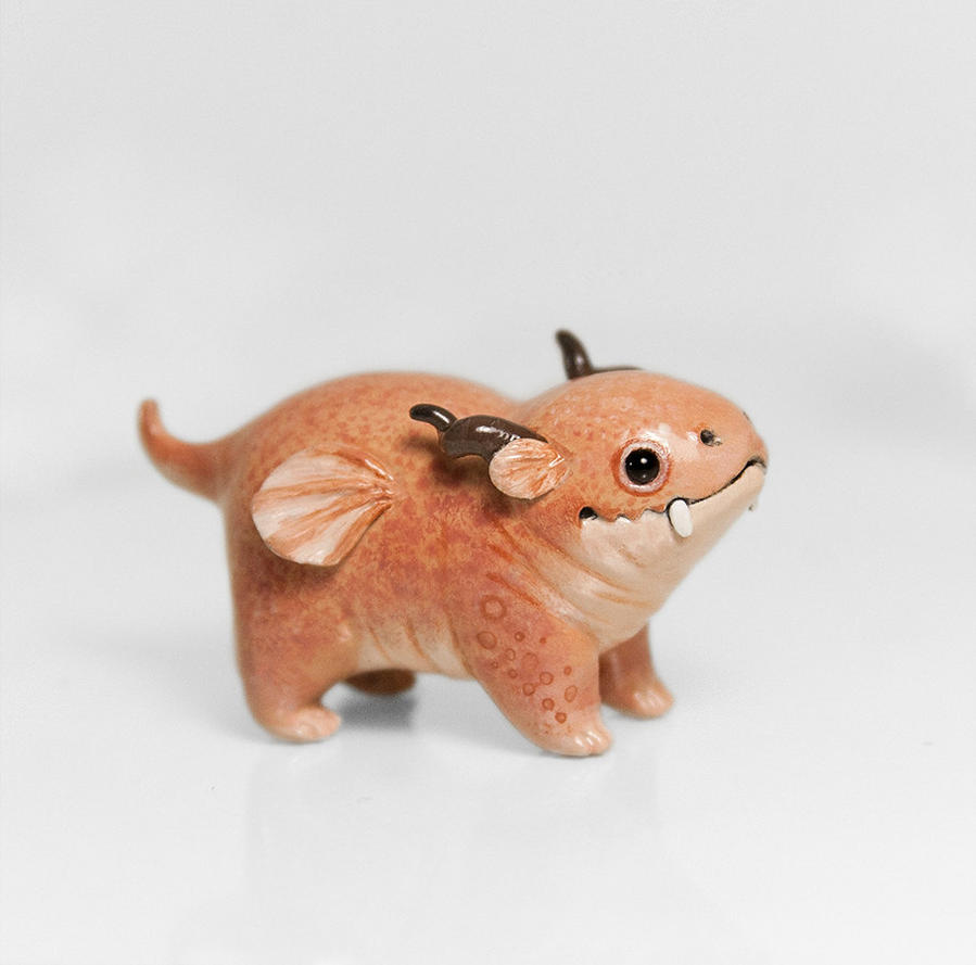Dragon Figurine by RamalamaCreatures