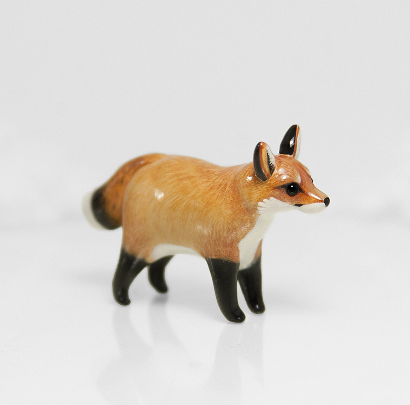 Fox Figurine by RamalamaCreatures