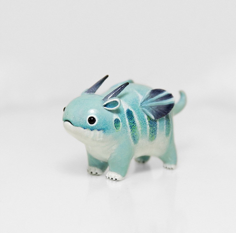 Mint Dragon by RamalamaCreatures