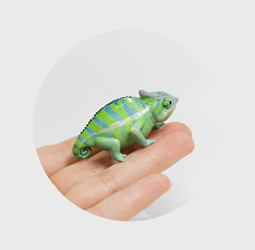 Chameleon by RamalamaCreatures
