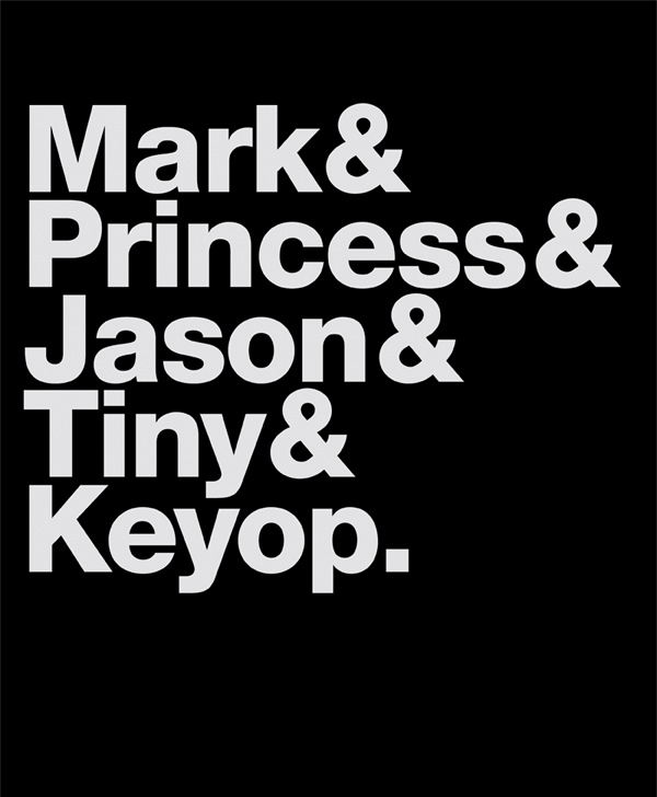Mark & Princess & Jason & Tiny & Keyop.