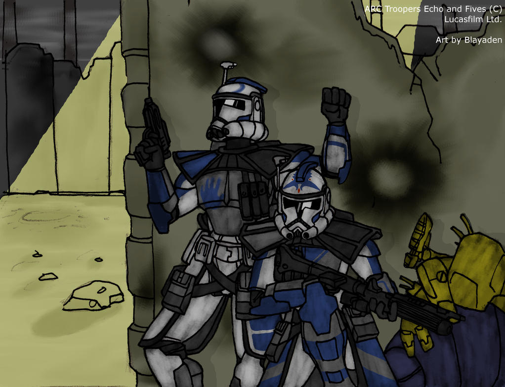 Echo and Fives infiltrate FINISHED by Blayaden