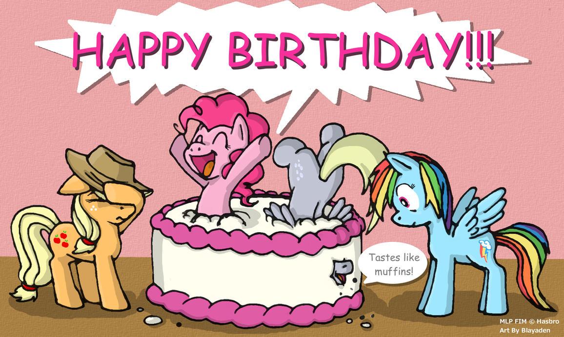 Happy Pony Party By Blayaden