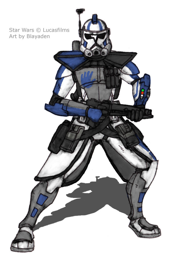 ARC Trooper Echo (Mod) Request by Blayaden
