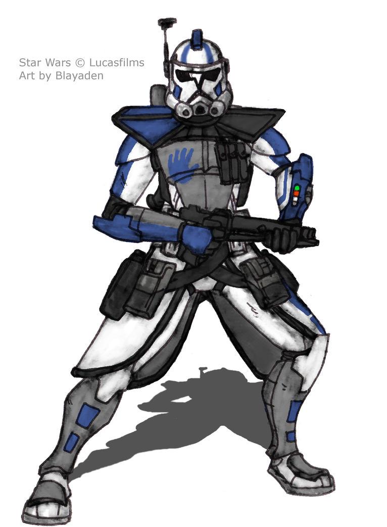 ARC Trooper Echo (Mod) Request by Blayaden