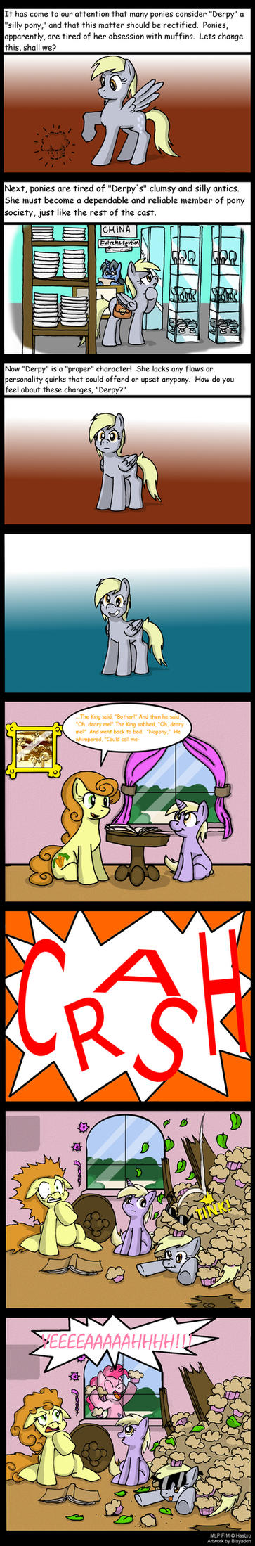 Pony Opinions... by Blayaden