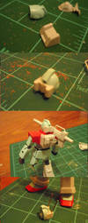 White Dingo Project part 4- GM Cannon WIP 3 by Blayaden