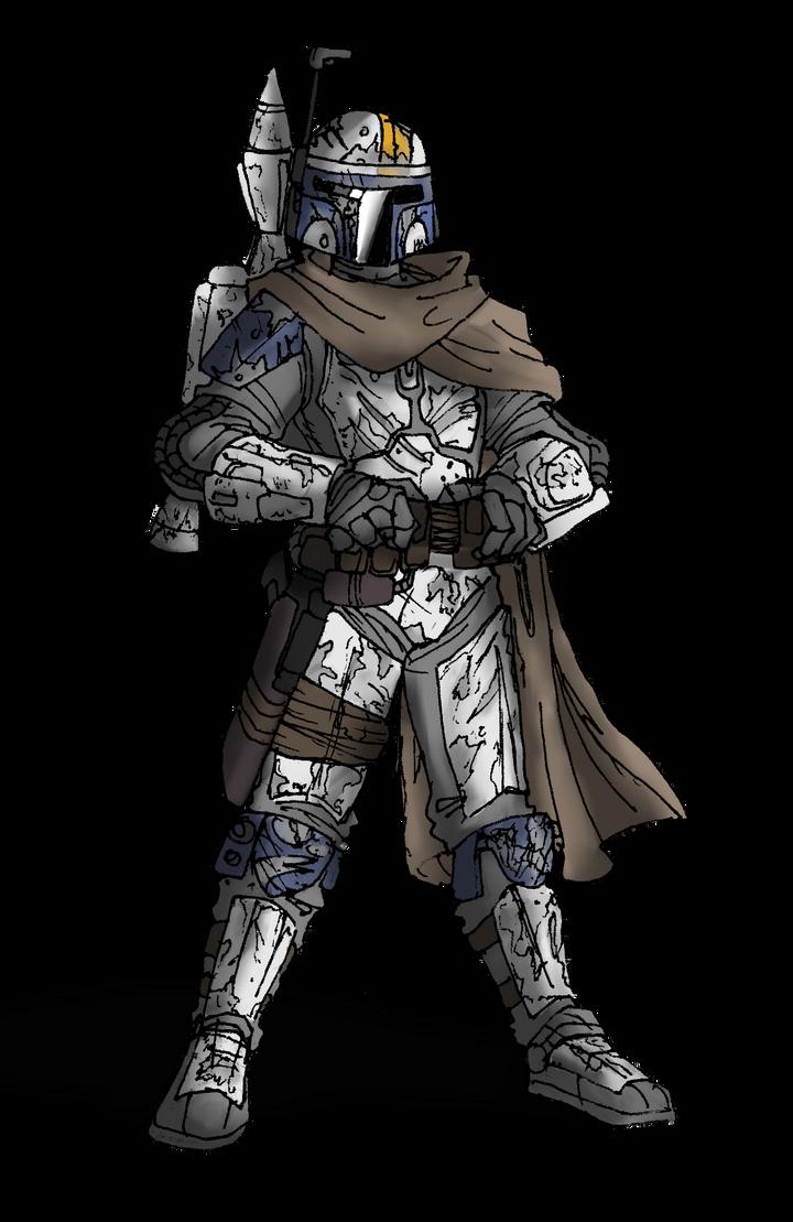 Mandalorian Armor by Blayaden