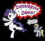 Rarity's Interpretive Dance!
