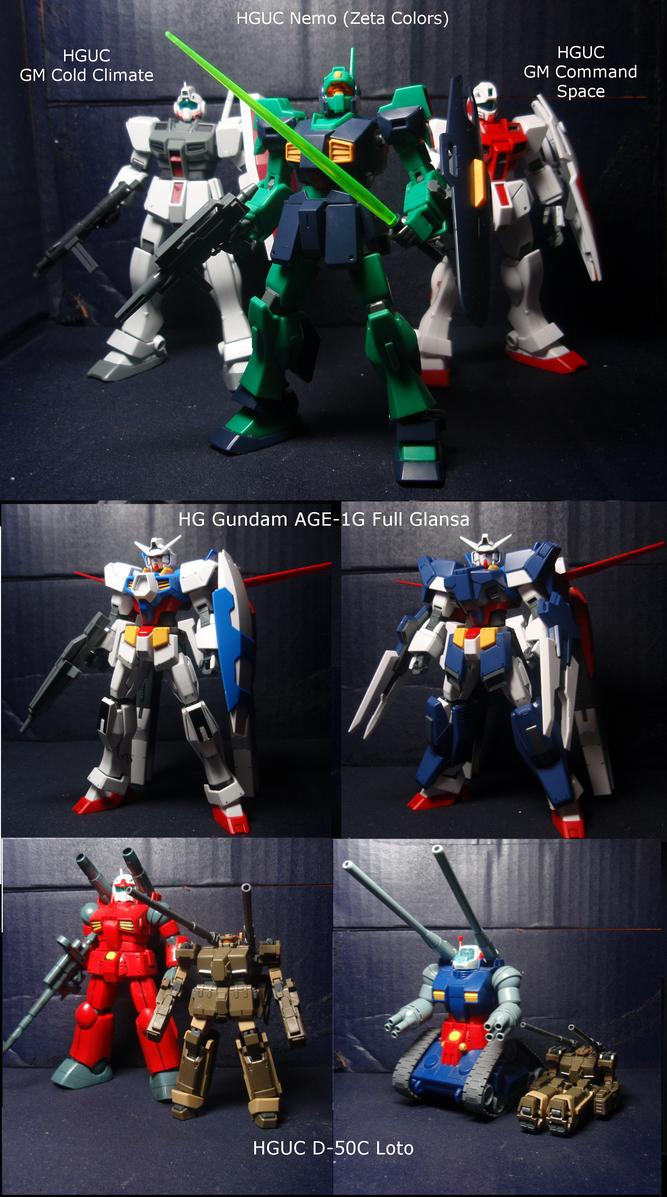 New models by blayaden
