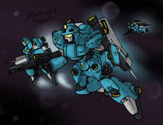 RGM-122 Javelin- Last of the RGM line by Blayaden