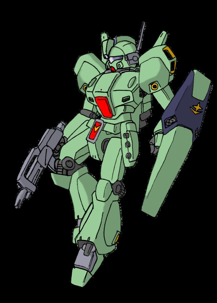 RGM-89 Jegan by Blayaden