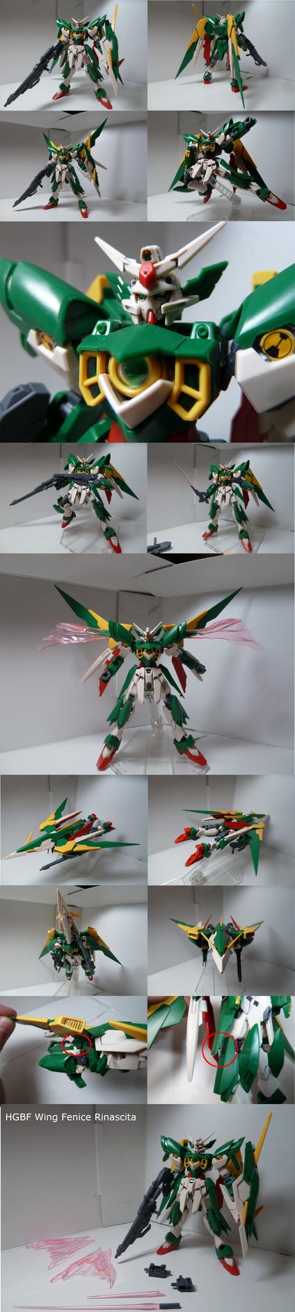 Wing Gundam Fenice Rinascita Review by Blayaden