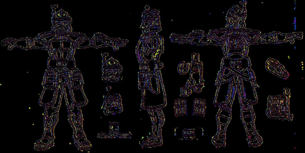 Arc Trooper Template (transperancy) by Blayaden