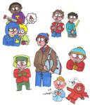 South Park doodles