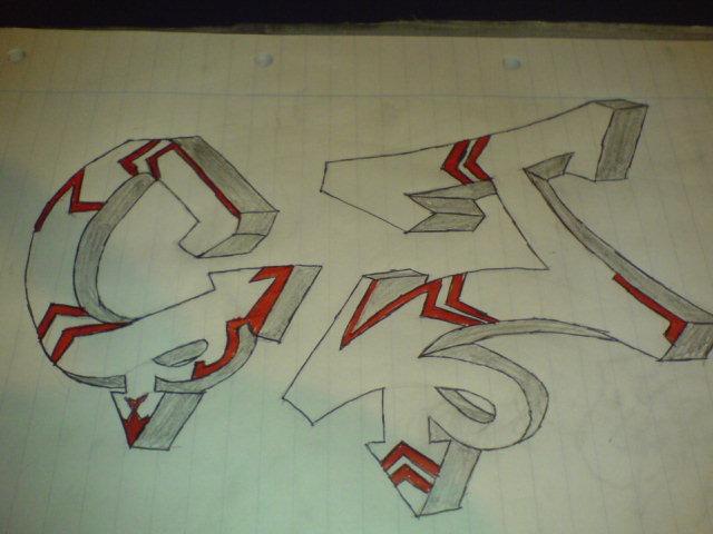 Cj Scribble Drawing : Graffiti name cj related keywords long