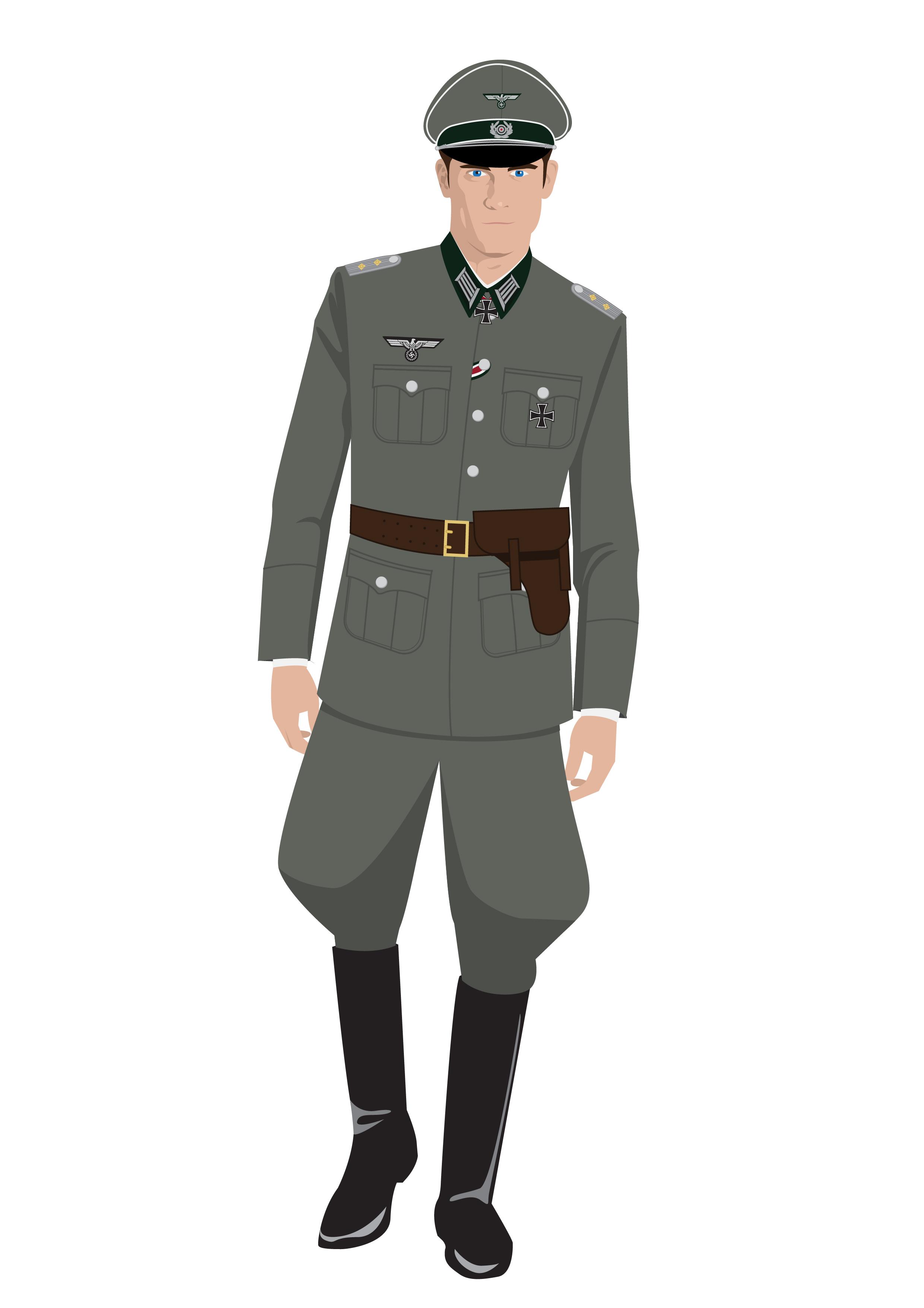 WW2 Wehrmacht Officer Uniform by Uthenism on DeviantArt
