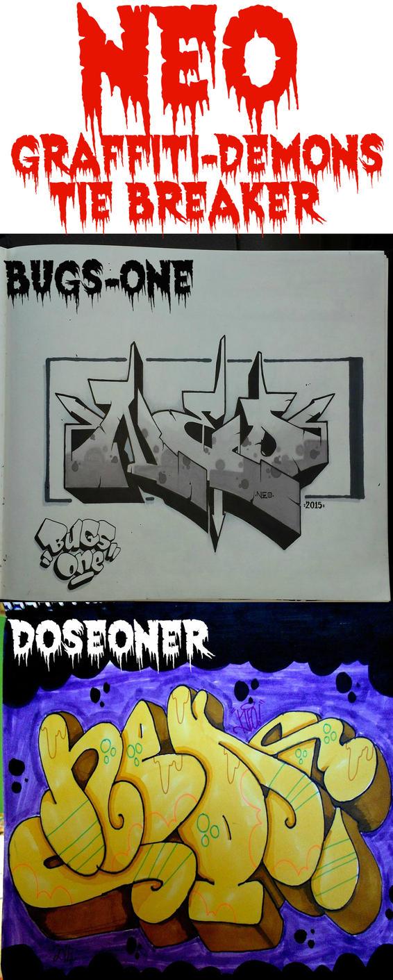 NEO Tie Breaker by graffiti-demons