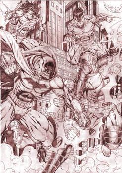 Batman vs Gundala