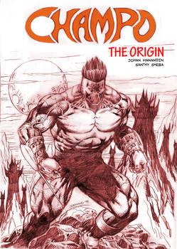 Champo The Origin Mock-up Cover