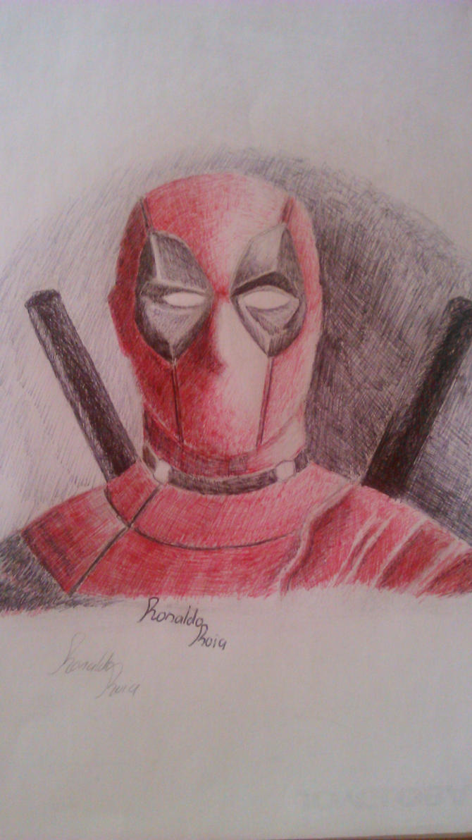 Deadpool by RonaldoRoia