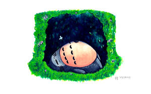 Tonari No Totoro by NeoXVl