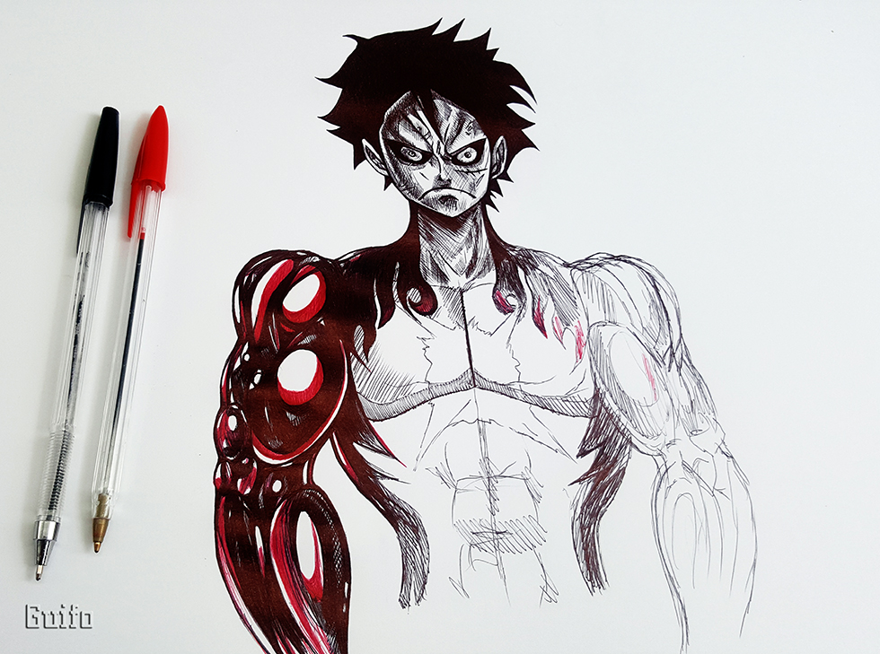 Monkey D Luffy Gear Fourth By Neoxvl On Deviantart